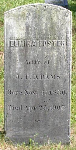 Elmira <I>Foster</I> Adams