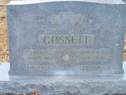 Dorsey B Gossett