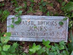 Mattie <I>Brooks</I> Jones
