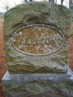 Amanda Catherine Isabella <I>Adams</I> Allison