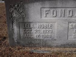 Lela <I>Noble</I> Fonda