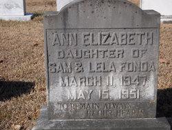 Ann Elizabeth Fonda