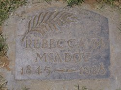 Rebecca Moriah <I>Waller</I> McAboy