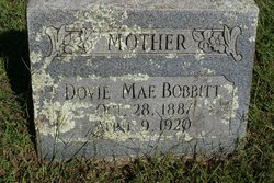 Dovie Mae <I>Holland</I> Bobbitt