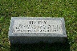 Phoebe <I>Zimmerman</I> Birkey