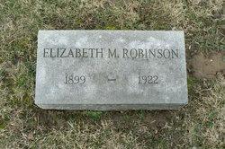 Elizabeth Marrietta <I>Lester</I> Robinson