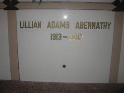 Lillian E <I>Adams</I> Abernathy