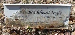 Louise Mary <I>Bankhead</I> Ingle