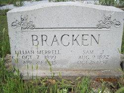 Lillian <I>Merrell</I> Bracken