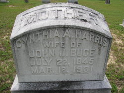 Cynthia Ann <I>Harris</I> Buce