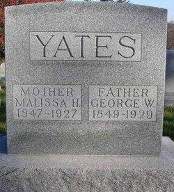 Malissa Humphery <I>Moran</I> Yates