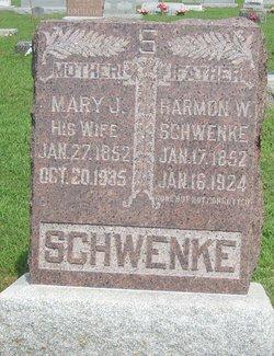 Mary Jane <I>Smith</I> Schwenke