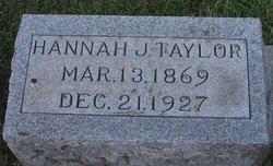 Hannah J Taylor