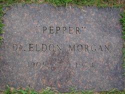 """Dr Eldon """"Pepper"""" Morgan"""