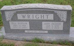 Ella <I>Barham</I> Wright