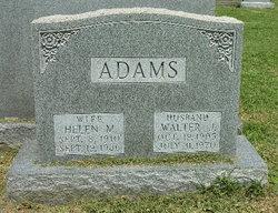 Walter J Adams