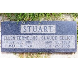 Ellen Fredricka <I>Fernelius</I> Stuart
