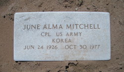 June Alma Mitchell