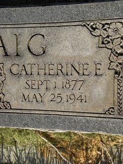 Catherine <I>Evans</I> Padfield Craig