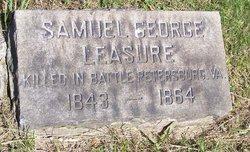 Lieut Samuel George Leasure