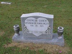 Florencie Gertrude <I>Gooch</I> Amburgey