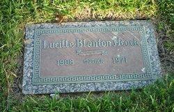 Lucille <I>Blanton</I> Acock