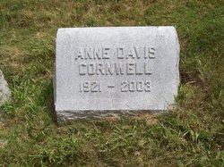 Anne K. <I>Davis</I> Cornwell