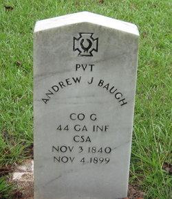 Pvt Andrew J. Baugh