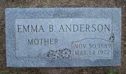Emma Bertha <I>Danielson</I> Anderson