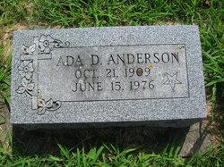 Ada D. Anderson