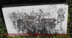 Virginia <I>Robinson</I> Barham