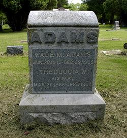 Wade Milton Adams