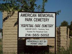 American Memorial Park Cemetery In Grand Prairie Texas Find A Grave Cemetery