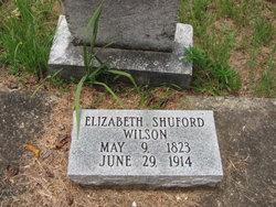 Elizabeth <I>Shuford</I> Wilson
