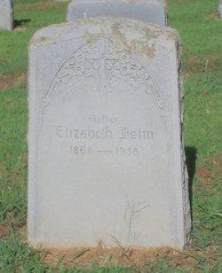 Elizabeth <I>Raible</I> Heim