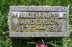 Maude Foster <I>Knipple</I> Anderson