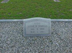 Jannie <I>Bagwell</I> Johnson