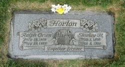 Shirley <I>Hooton</I> Horton