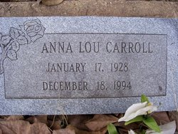 Anna Lou Carroll