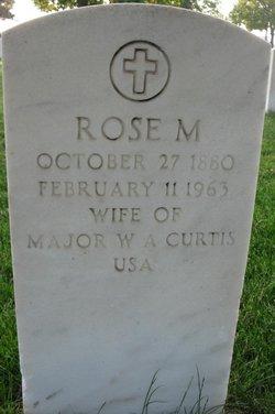 Rose M Curtis