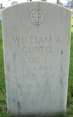 William A Curtis