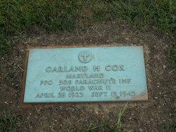 PFC Garland H. Cox