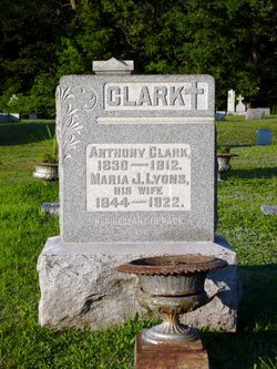 Maria J. <I>Lyons</I> Clark