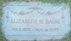 Elizabeth Catherine <I>Harney</I> Baum