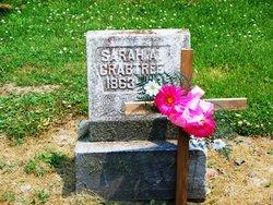 Sarah Alice <I>Burnett</I> Crabtree