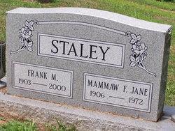 Frank M Staley