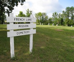 French Lake Mission Cemetery
