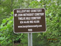 Ballentine Cemetery