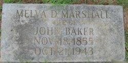 Melvia Demaris <I>Marshall</I> Baker