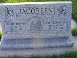 Mary Isabella <I>Anderson</I> Jacobsen